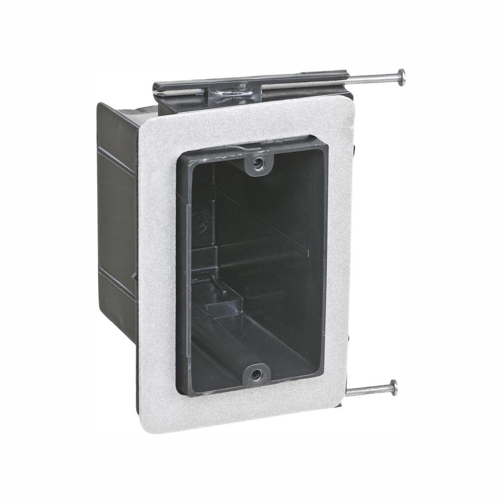 1-Gang 22-1/2 cu. in. New Work Non-Metallic Vapor Tight Electrical Wall Box (Case of 50)