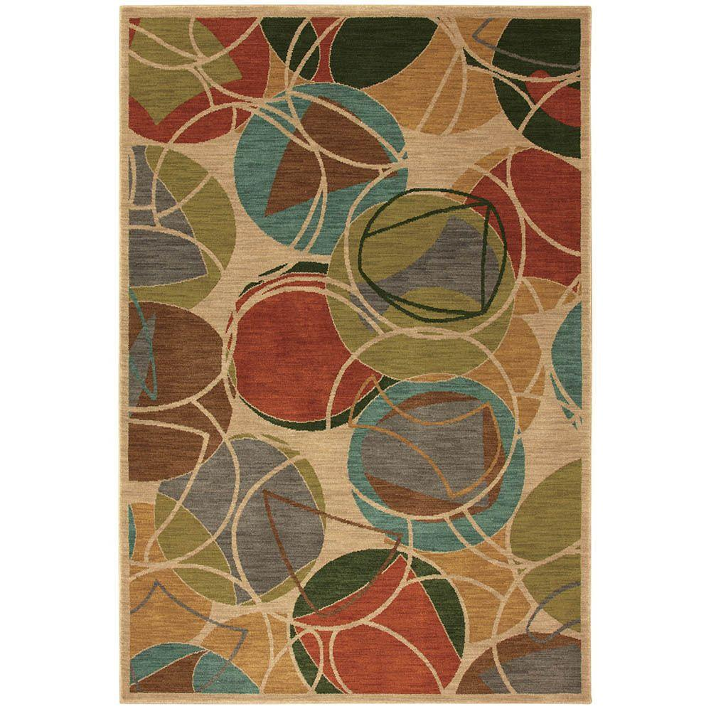 Karastan Lille Croissant 9 ft. 6 in. x 12 ft. 11 in. Area Rug