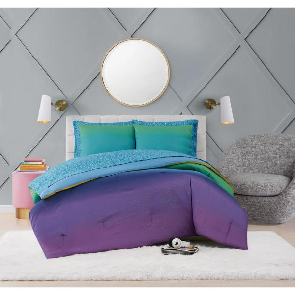 Material Girl Mermaid Ombre 5 Piece, Mermaid Bedding Twin
