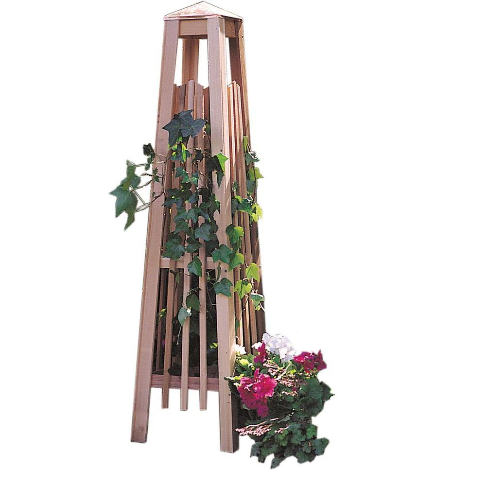 Manhattan 56 in. Obelisk Trellis