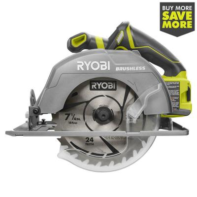 18-Volt ONE+ Cordless Brushless 7-1/4 in. Circular Saw (Tool Only)