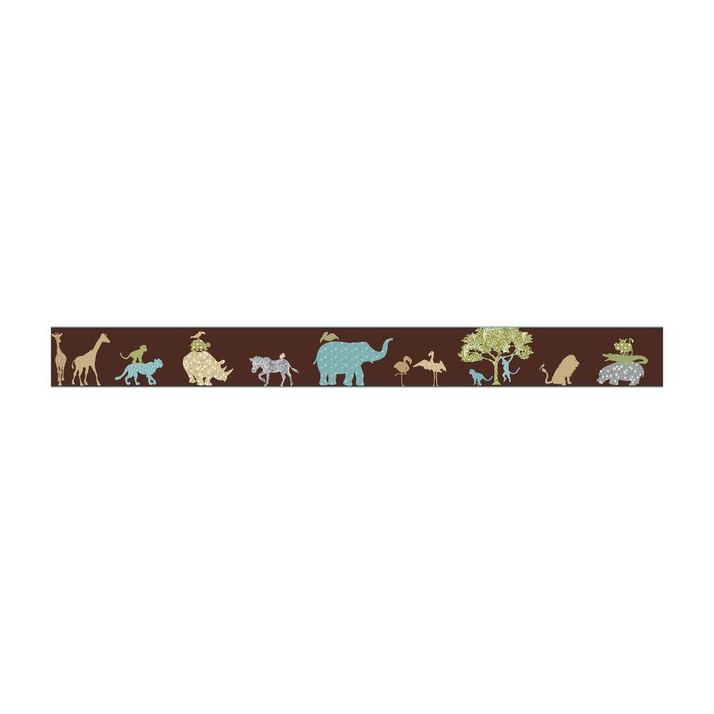 Just Kids Safari Wallpaper Border