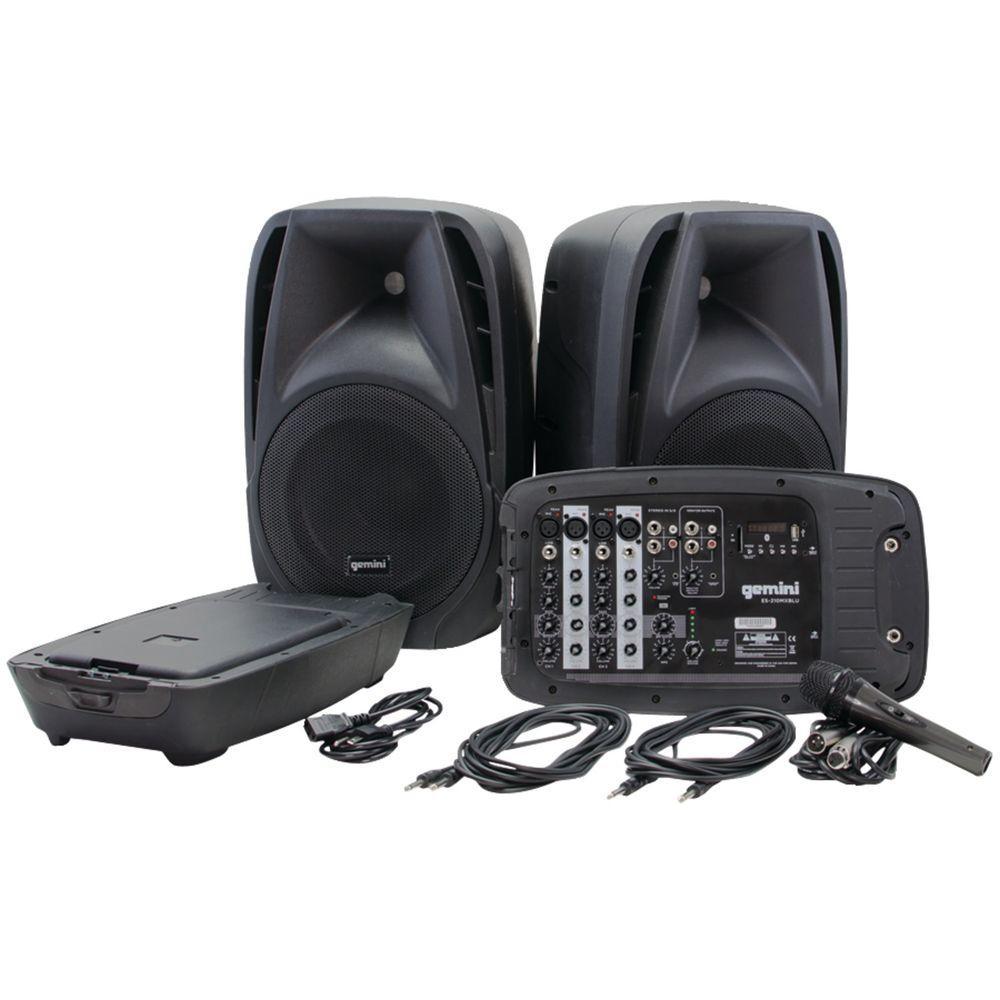 Gemini ES 2-Way High-Powered Passive PA Speaker System