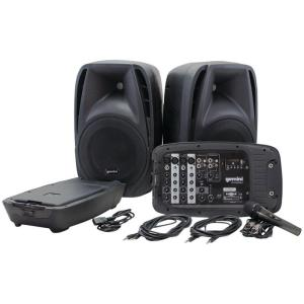 Billboard Party Starter Bluetooth Powered Speaker in Black