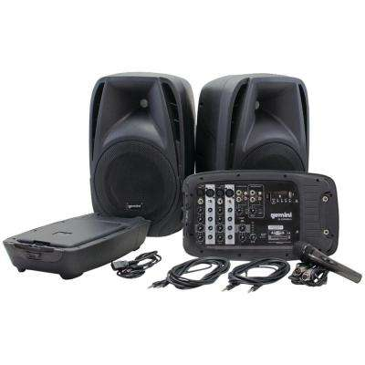 ES 2-Way High-Powered Passive PA Speaker System