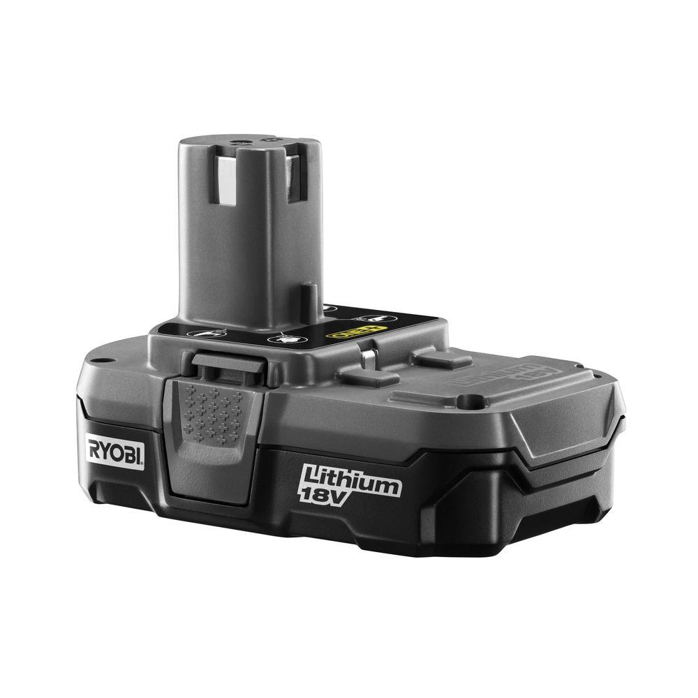 Ryobi 18-Volt One+ Lithium-Ion Compact Battery Pack 1.3Ah