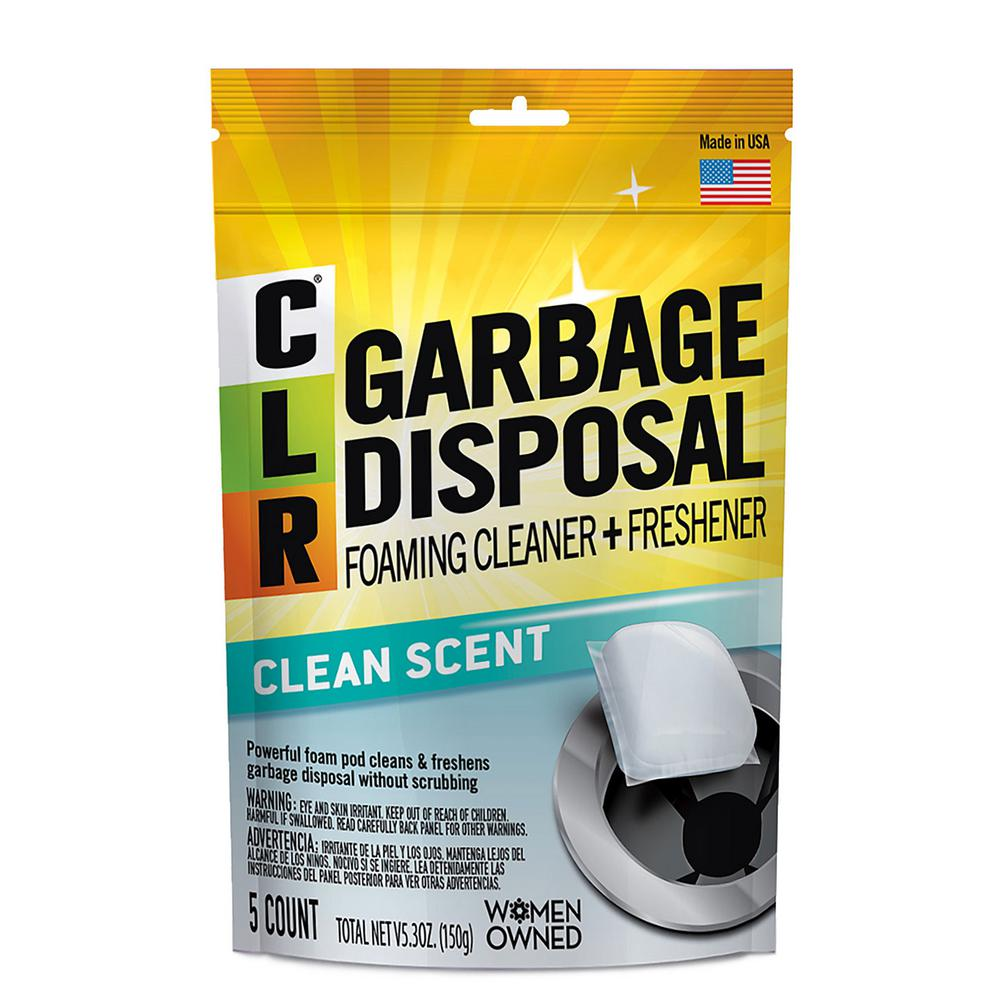Clr Garbage Disposal Cleaner Pods 5 Count Gdc 6 The