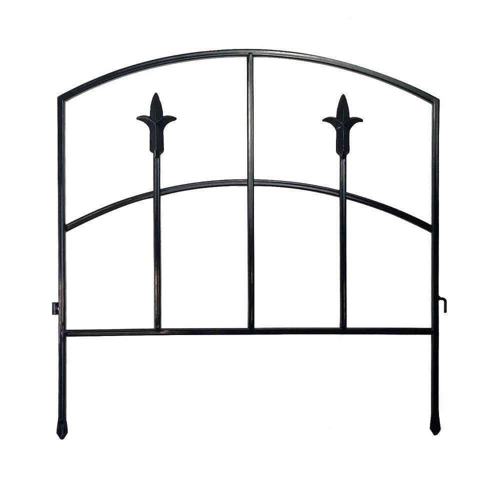 Alexander 18in Steel Garden Fence