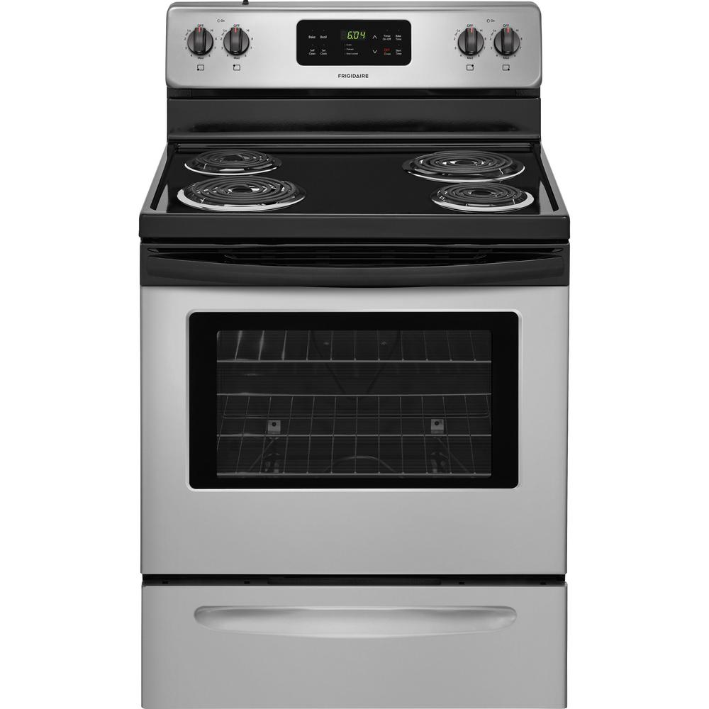 Electric Kitchen Stoves At Home Depot ~ Frigidaire in cu ft electric range with self