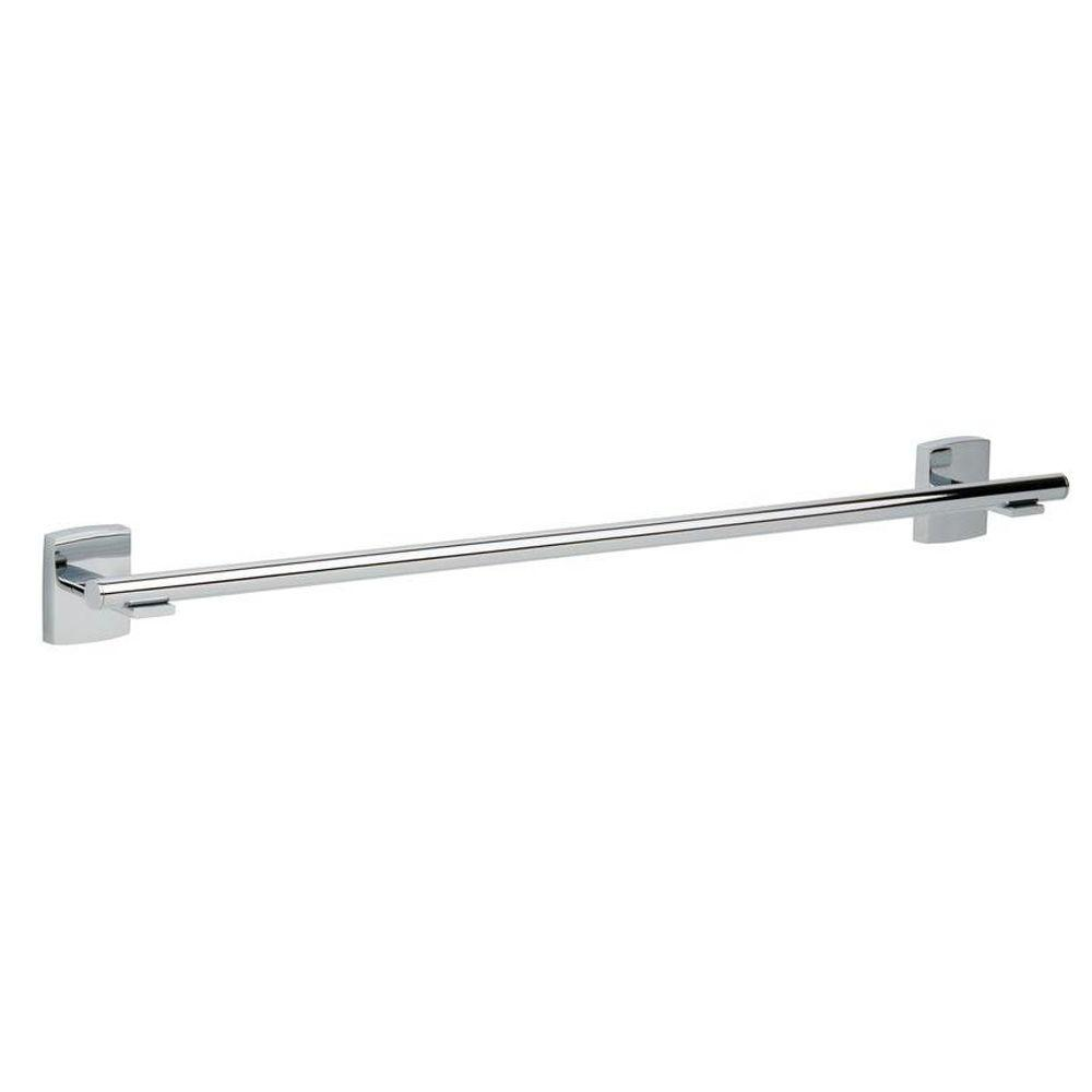 No Drilling Required Towel Bars Bathroom Hardware The Home Depot
