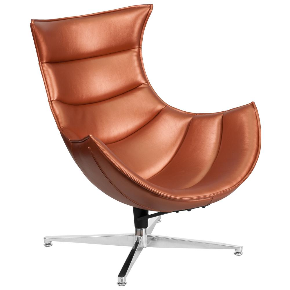This Review Is From Copper Leather Swivel Co Chair
