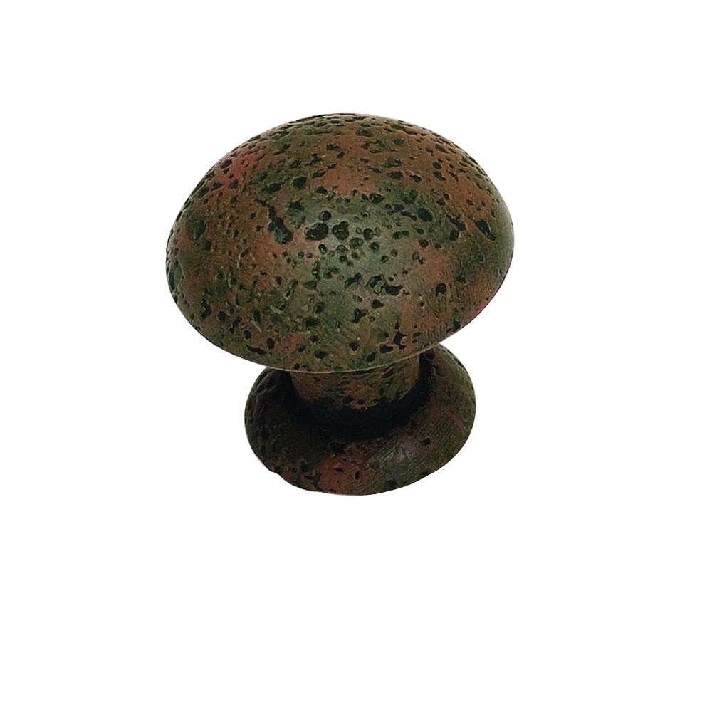 Atlas Homewares Olde World Collection 1-3/8 in. Rust Cabinet Knob