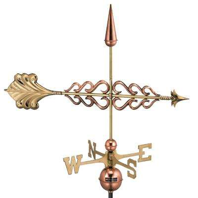 Smithsonian Arrow Weathervane - Pure Copper