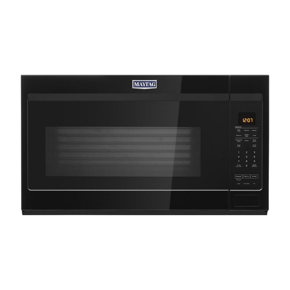 Range Microwave With Dual Crisp
