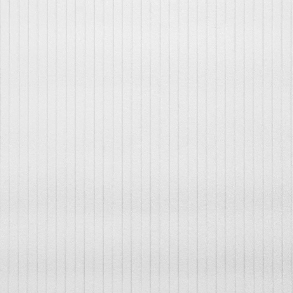 56.4 sq. ft. Mishko Paintable Stripe Texture Wallpaper