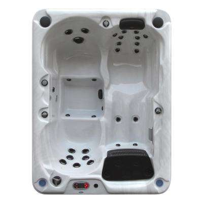 Quebec Plug and Play 3-Person 29-Jet Spa
