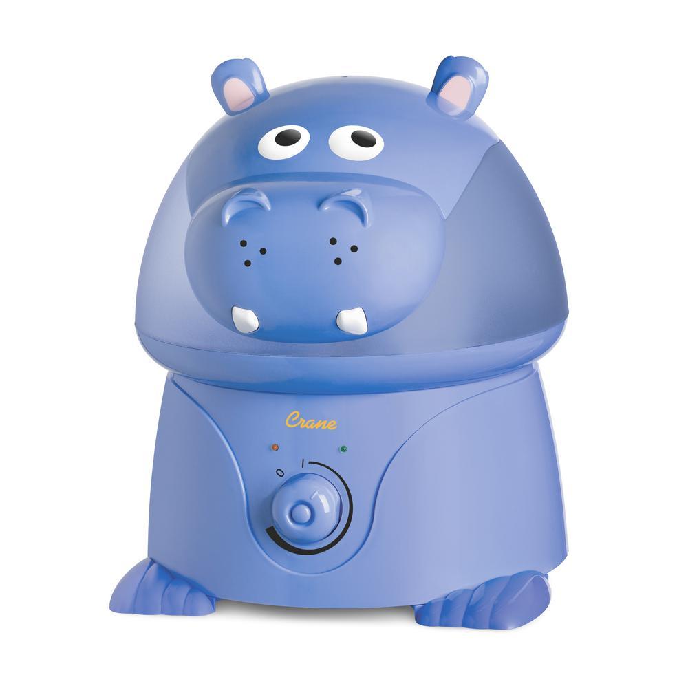 Crane 1 Gal. Cool Mist Humidifier, Hippo