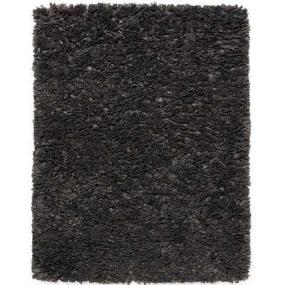Gray Paper Shag 8 ft. x 10 ft. Area Rug