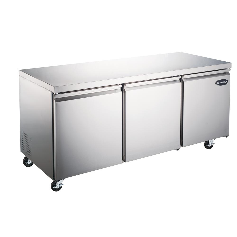 Saba 72 In W 15 5 Cu Ft Commercial Under Counter
