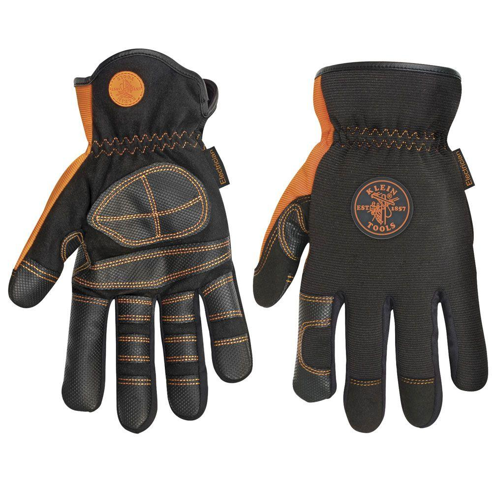 Klein Tools Extra Large Electrician's Work Gloves