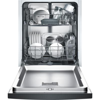 Ascenta Front Control Tall Tub Dishwasher in Black with Hybrid Stainless Steel Tub, 50 dBA