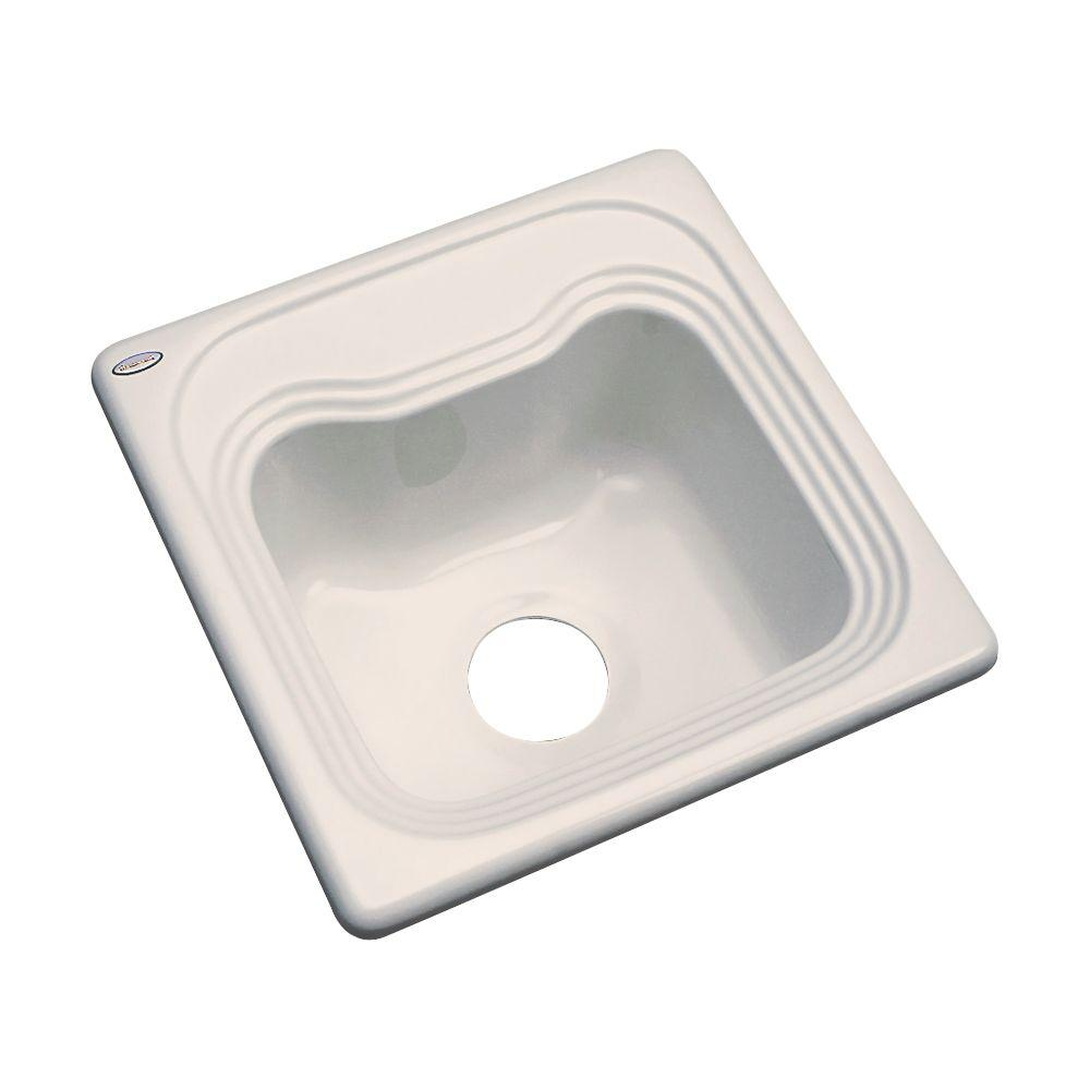 Oxford Drop-In Acrylic 16 in. 0-Hole Single Bowl Entertainment Sink in