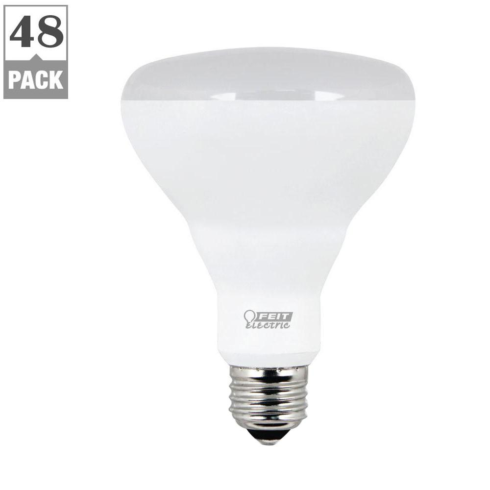FEIT 65W Equivalent Soft White BR30 Dimmable LED Light Bu...