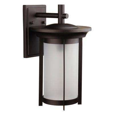 Scottsdale 1-Light Bronze Outdoor Wall Mount Sconce
