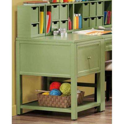 Craft Space Standard File Cabinet in Rhododendron Leaf