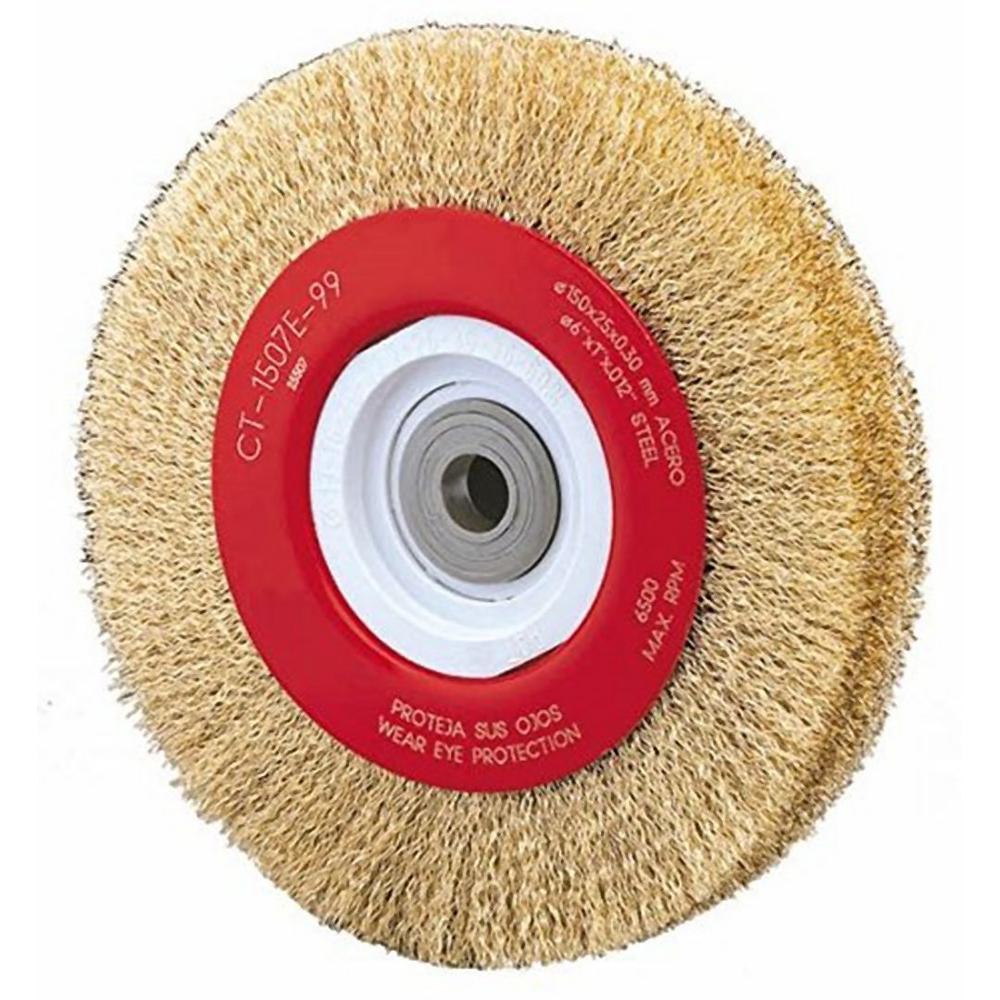 8 in. Crimped Wire Wheel Brush