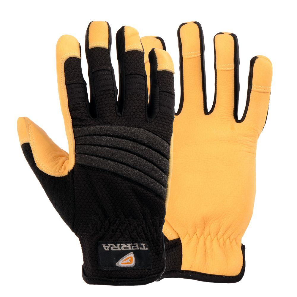 Terra Leather Superior Performance Extra Large Work Gloves