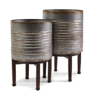 Berkeley Iron Cachepots (Set of 2)