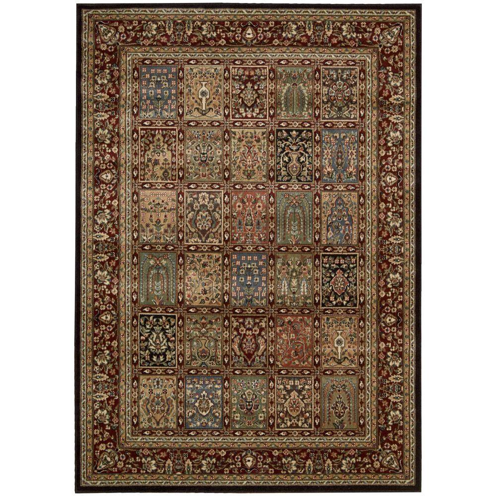 Persian Arts Multicolor 5 ft. 3 in. x 7 ft. 5