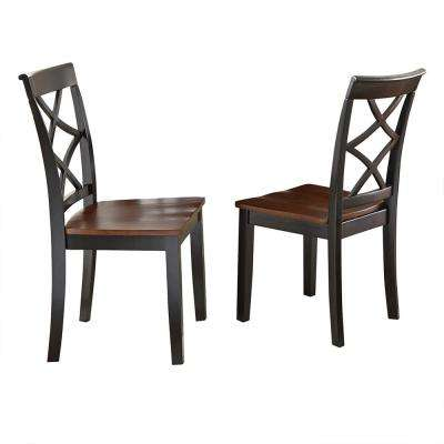 Rani Cherry Side Chairs (Set of 2)
