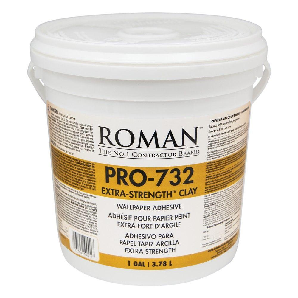 Roman Pro 732 1 Gal Extra Strength Wallcovering Adhesive
