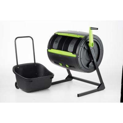 65 Gal. Two-Stage Compost Tumbler with Cart