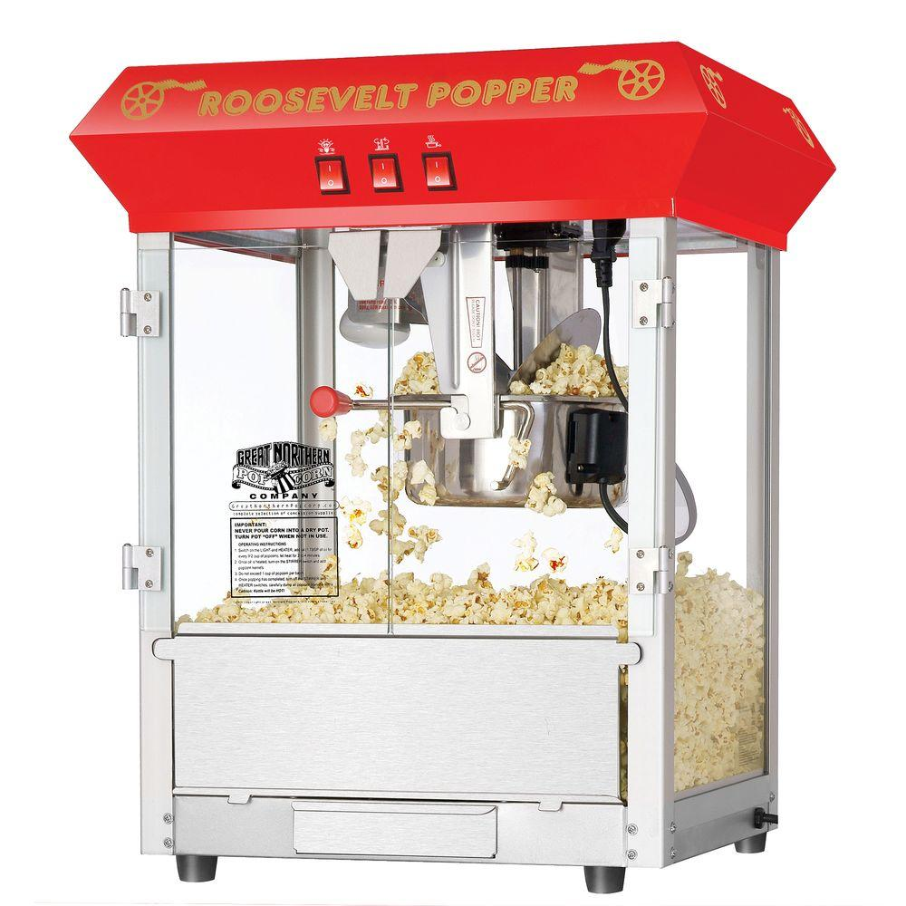 Superieur Great Northern Roosevelt Popcorn Machine