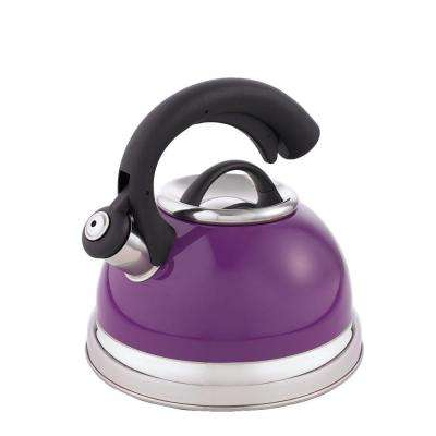 Symphony 10.4-Cup Stovetop Tea Kettle in Purple