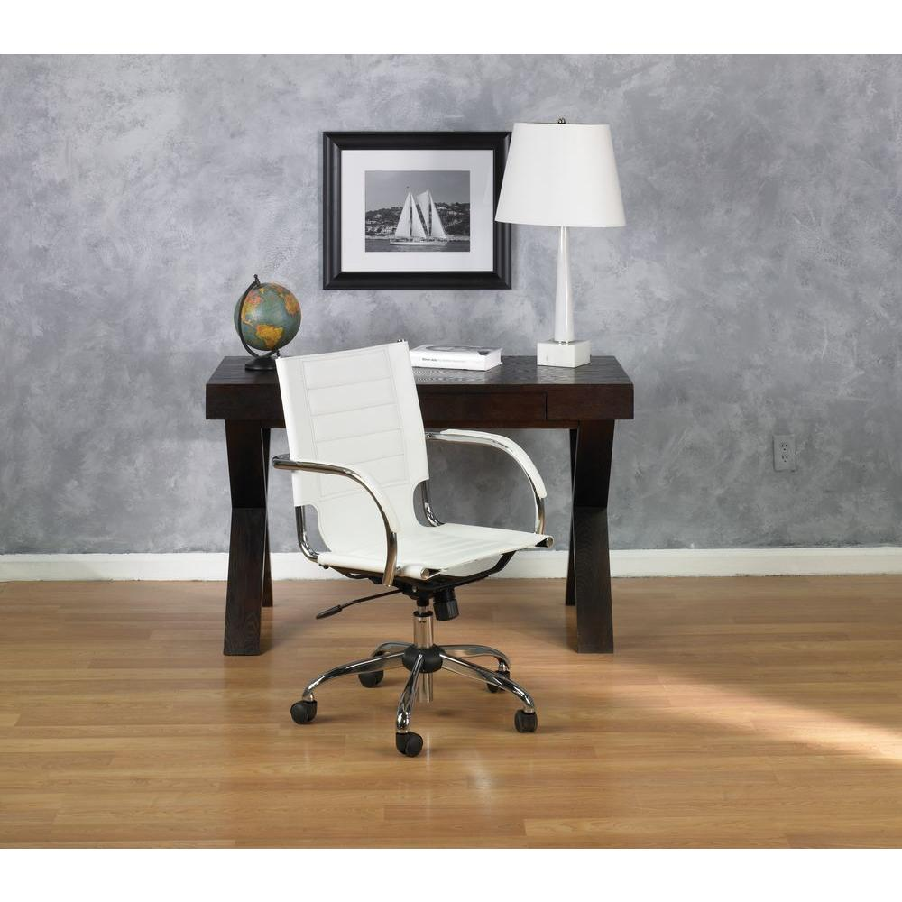 ave six trinidad white vinyl office chair tnd941a wh the home depot