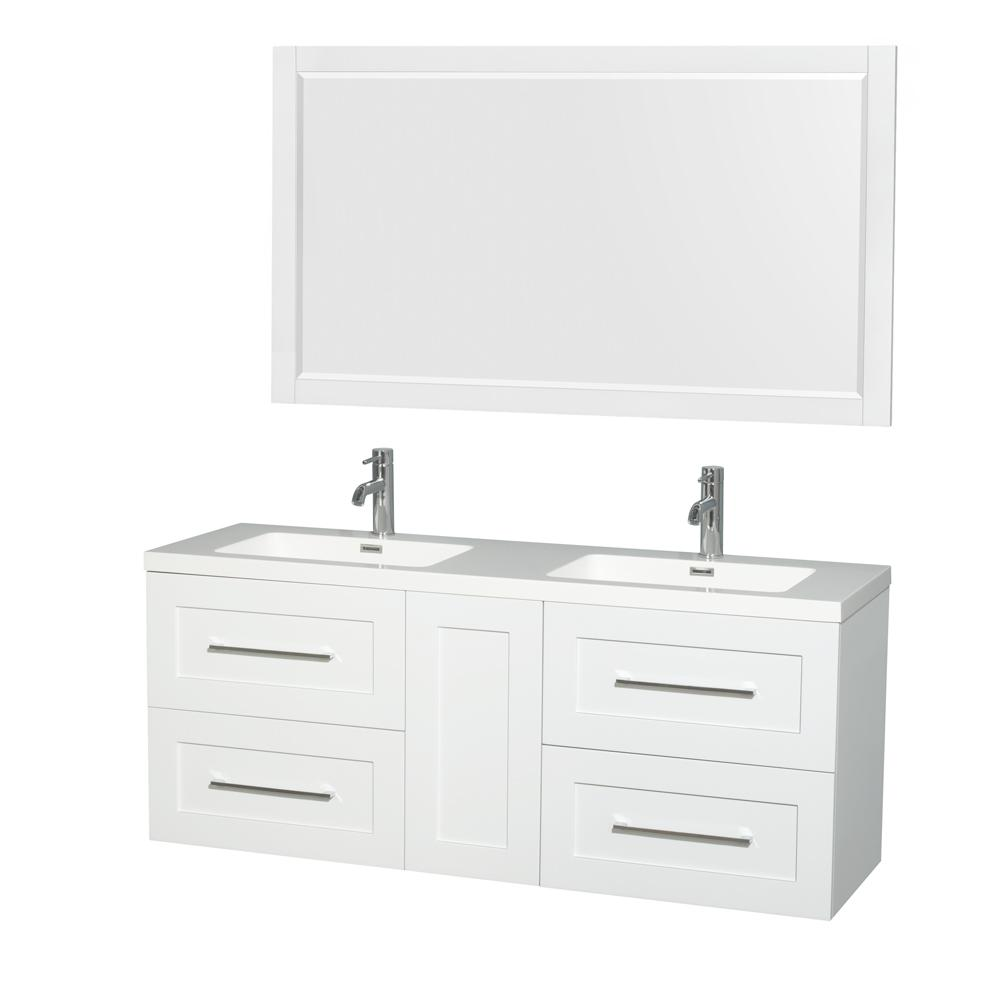 top vanities amare and resin wyndham mirror in integrated white sink acrylic tops vanity collection p glossy with