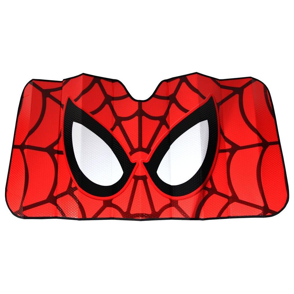 Plasticolor Marvel Spiderman Accordion Windshield Sunshade-003707R01 ... 98923256878