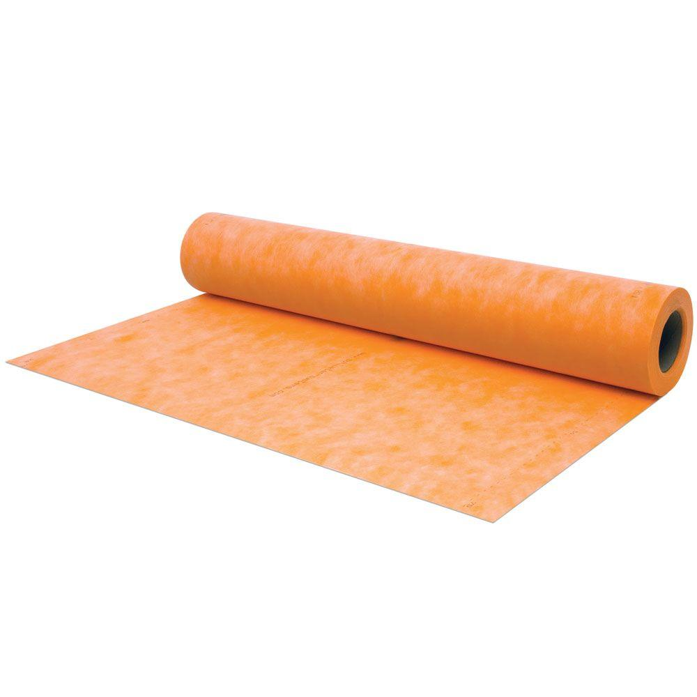 Schluter Kerdi 3 ft. 3 in. x 33 ft. Waterproofing Membrane ...