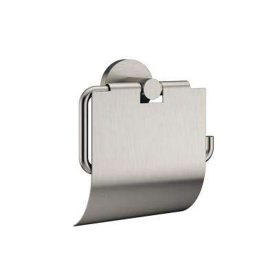 SALONE and RAZZO Toilet Paper Holder in Brushed Nickel