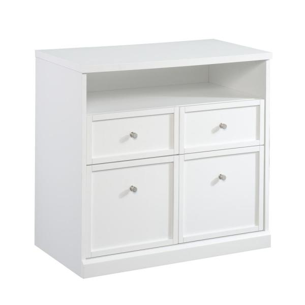 Homevisions White Storage Cabinet With