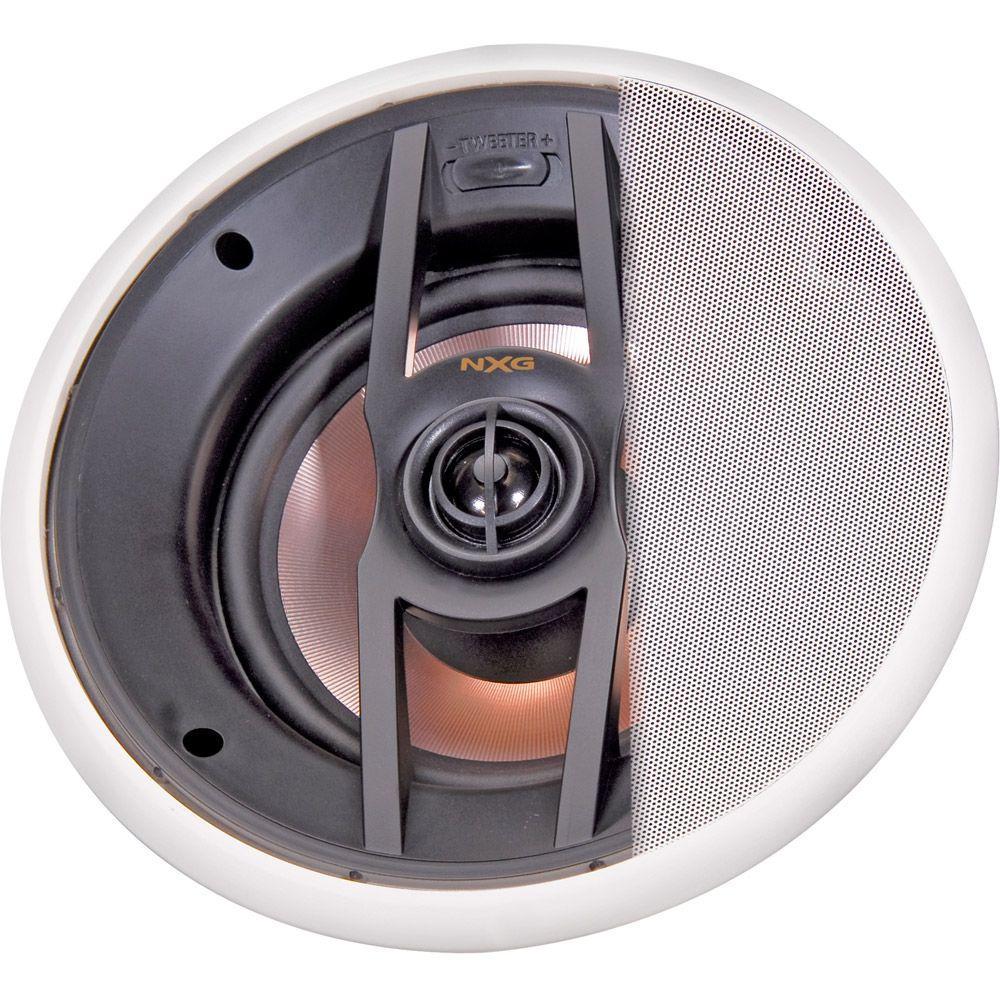 NXG Pro Series 6.5 in. 120-Watt 2-Way In-Ceiling Mounted Speaker System