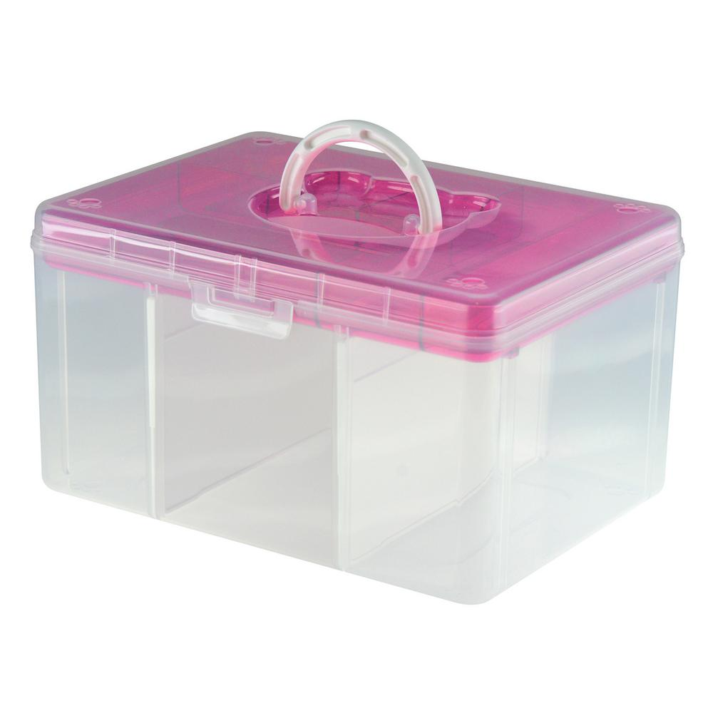 12.8 in. x 9.7 in. Hobby and Crafts Portable Storage Box