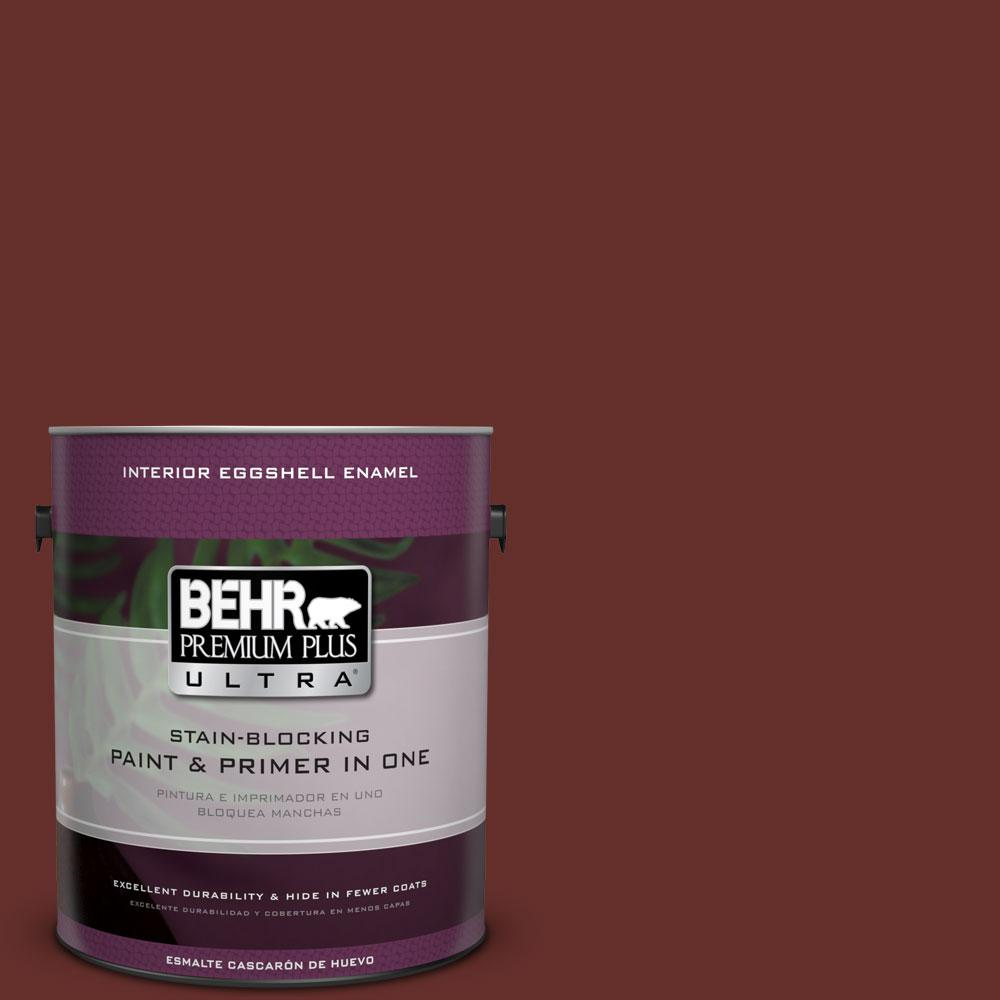 BEHR Premium Plus Ultra 1-gal. #ECC-31-3 Autumn Leaves Eggshell Enamel Interior Paint