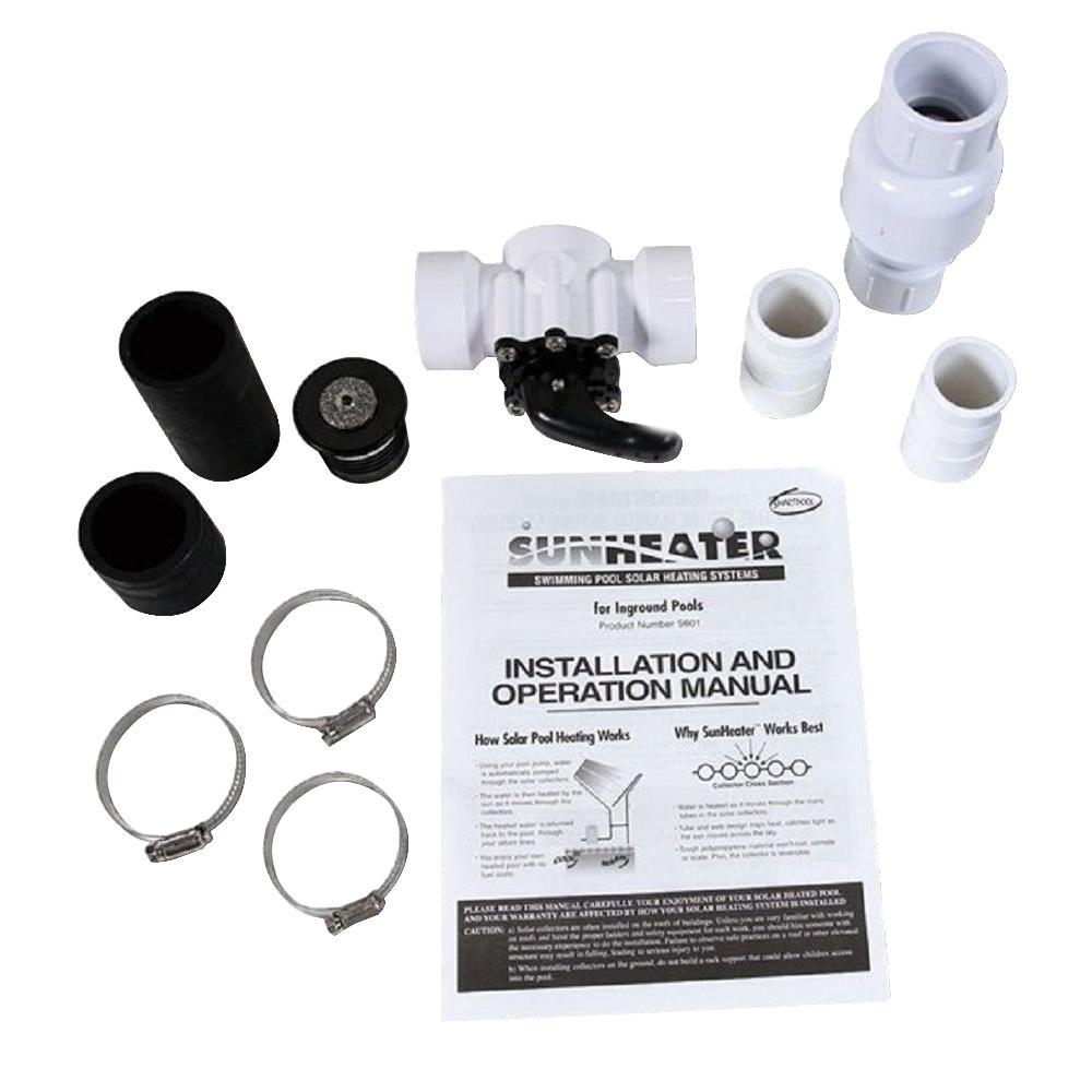 Reviews For Sunheater Universal System Kit For Universal Solar Pool Heater Sk22u The Home Depot