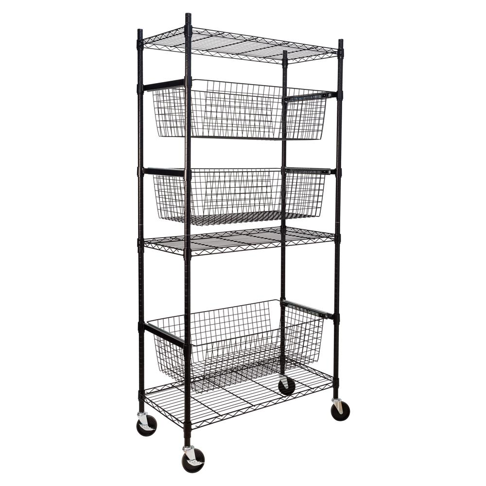 Sports Shelving Storage Rack