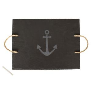 Anchor Slate Serving Tray by